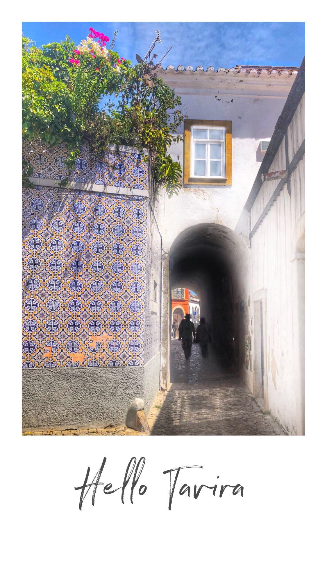 Postcard from Tavira -Pocztówka z Taviry