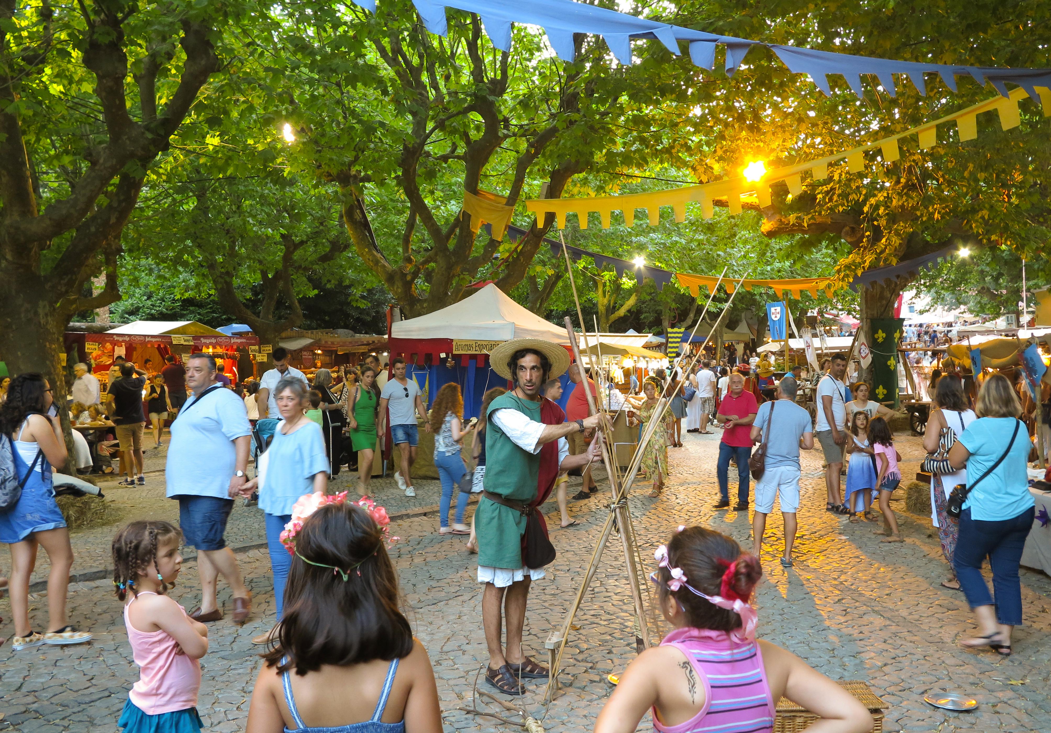 Sintra – Średniowieczny Jarmark – Feira Quinhentista de Sintra.