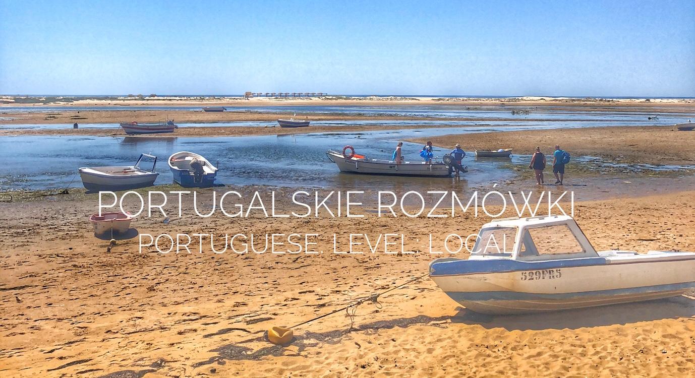 Portugalskie rozmówki – Portuguese, Level: local