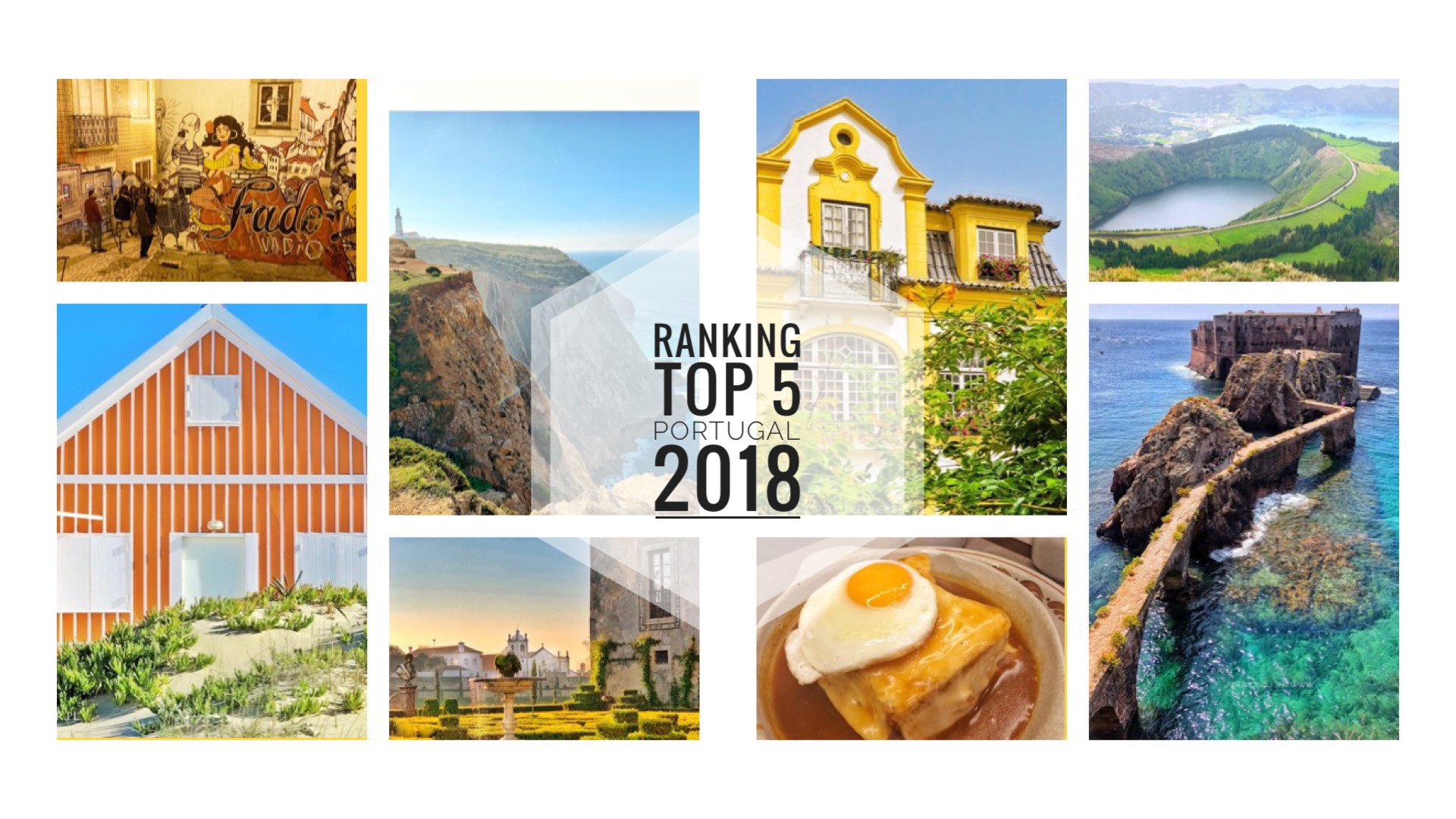 Ranking TOP 5  Portugal 2018