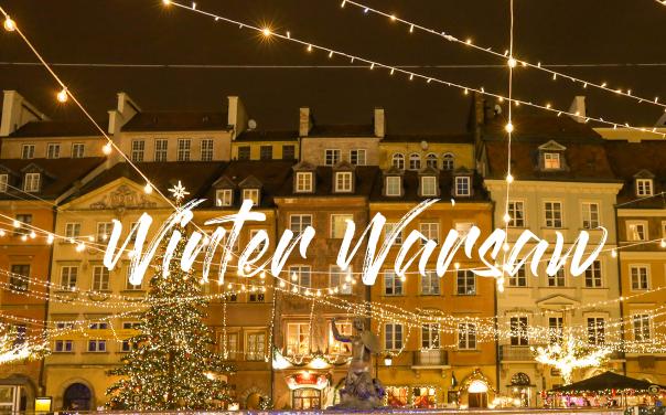 Zimowa Warszawa – Winter Warsaw