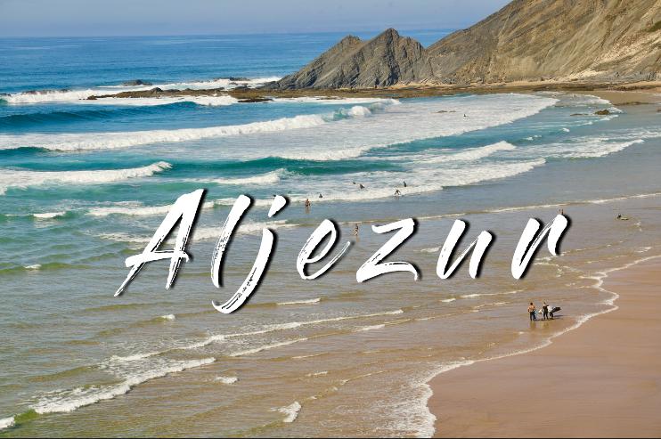 Aljezur at Algarve coast