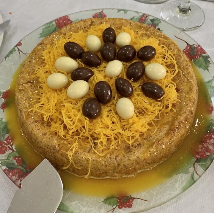 Przepis na Portugalskie Ciasto Migdałowe