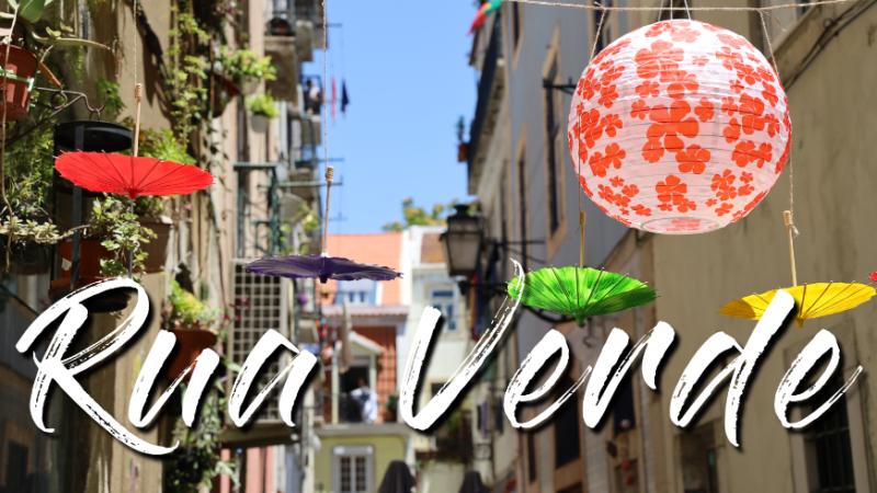 Lisbon Green Street Rua da Silva